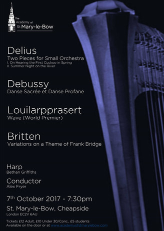 Debussy and Britten
