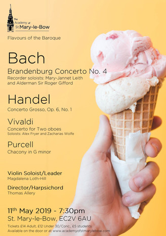 Flavours of the Baroque