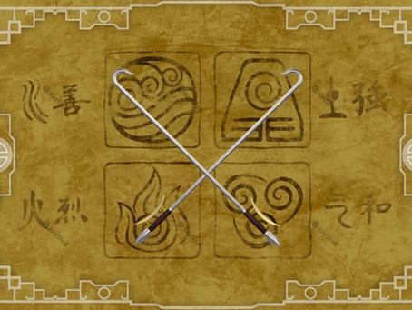 Jet's Hook Swords - Avatar: The Last Airbender