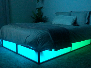 How to remotely control/program your LED light strips (the most MLG bed ever)