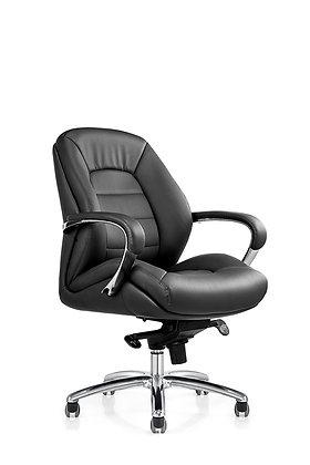 كرسي مودرن ظهر قصير جلد موديل F281