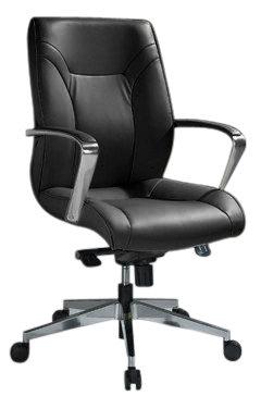كرسي مودرن ظهر قصير جلد 2126L