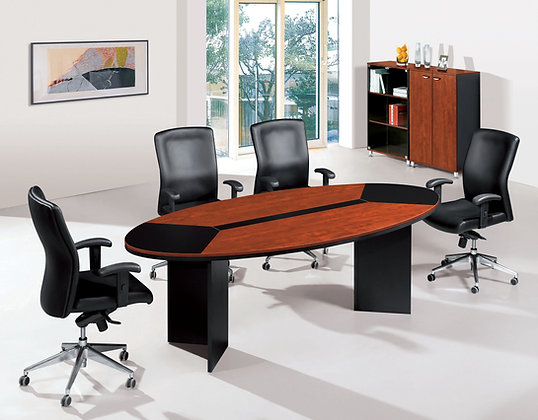 Modern Oval Meeting Table, BC24-2