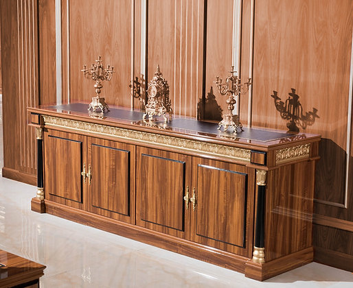 Classic Credenza Model Senator , MDF Wood , Wood Surface