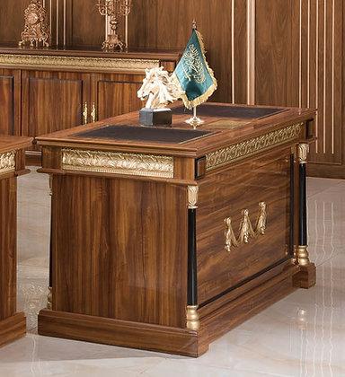 ملحق مكتب كلاسيك موديل سيناتور خشب اسباني سطح خشب