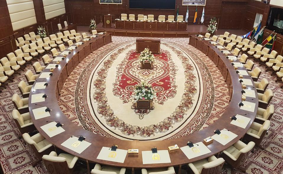 قاعة الاجتماعات - كلية الامير محمد بن نا