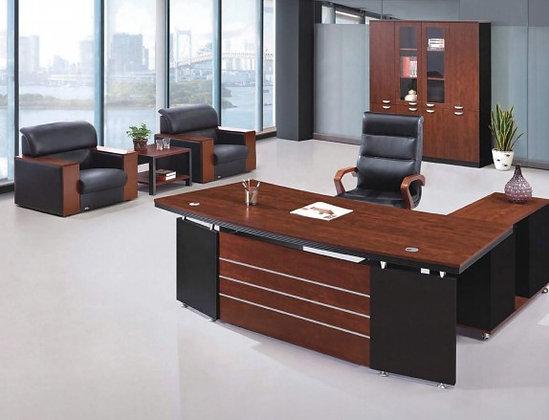 مكتب مودرن خشب بملحق موديل BM22-3