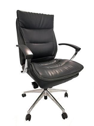 كرسي مودرن ظهر قصير جلد موديل 2101L