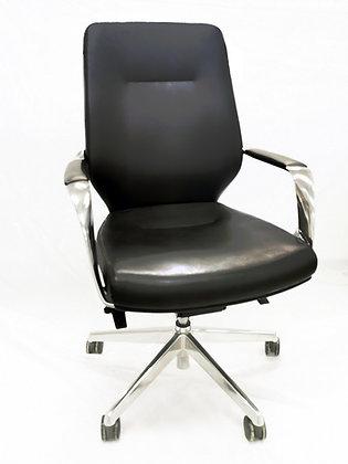 كرسي مودرن ظهر قصير جلد موديل B1711