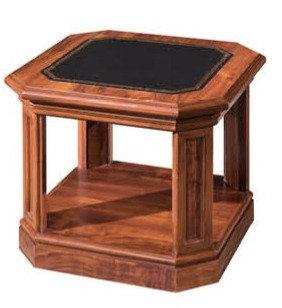 طاولة شاي موديل رويال خشب اسباني سطح خشب
