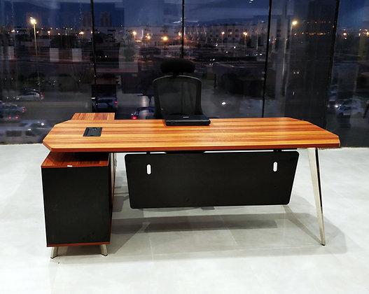 مكتب مودرن خشب مع ملحق ثابت موديل PG-K18B-G20D