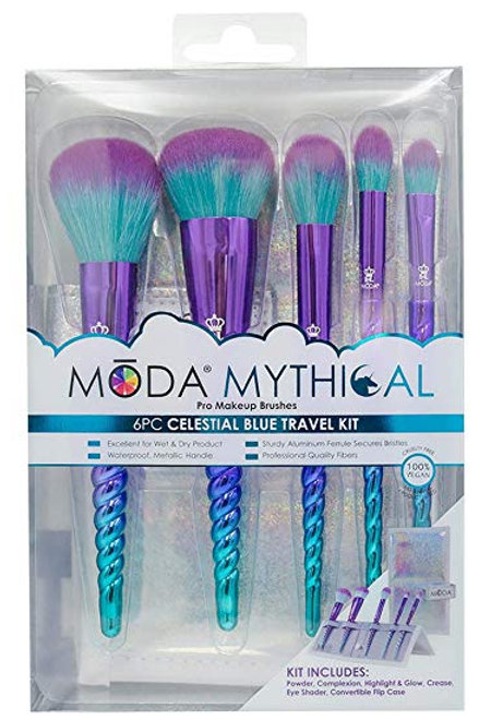 Moda 6pc Celestial Blue Travel Kit