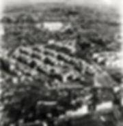 vue aérienne de l'hopital