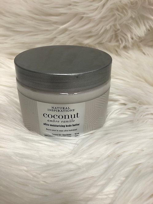 Coconut Body Butter 12oz