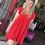 Thumbnail: Tomato Red Classy Dress