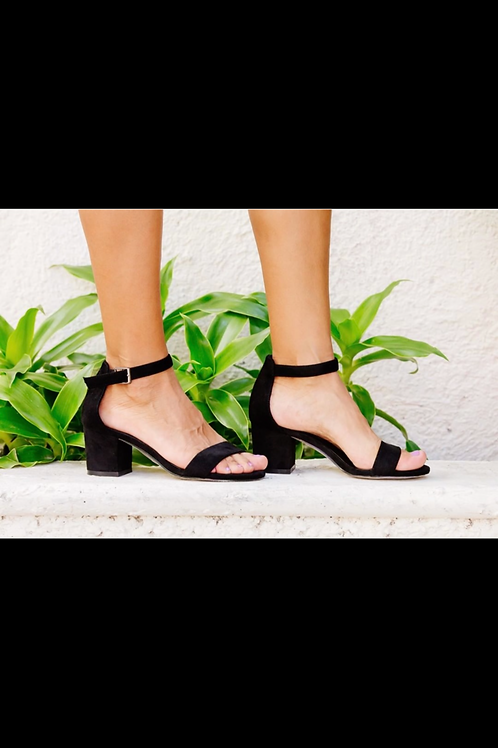Corkys Sweetie Black Heels