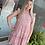 Thumbnail: Peach Mix Halter Dress