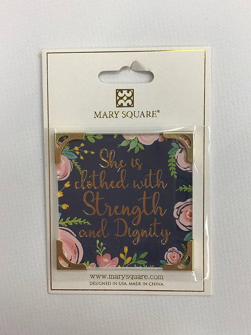 MS Magnet (Clothed w/ Strength & Dignity)