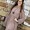 Thumbnail: Grey Salmon Floral Dress