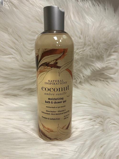 Coconut Bath & Shower Gel 11.8fl oz