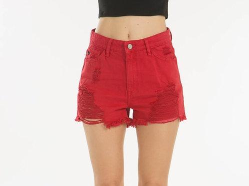 KanCan Red Hot Shorts