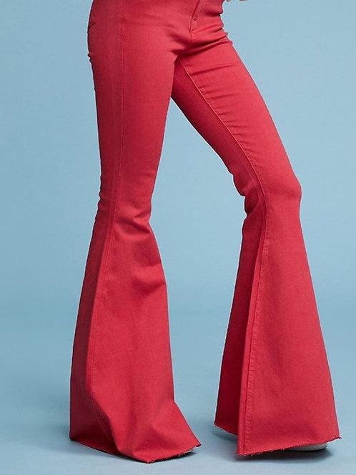 Judy Blue Crimson Flares