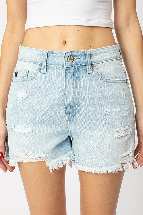 KanCan Hazel Light Denim Shorts