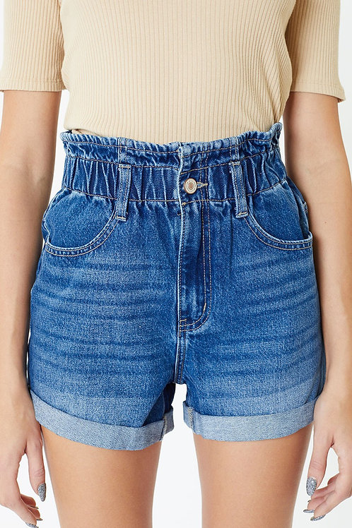 KanCan Vintage High Rise Shorts