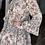 Thumbnail: Sand Floral Leopard Mix Dress