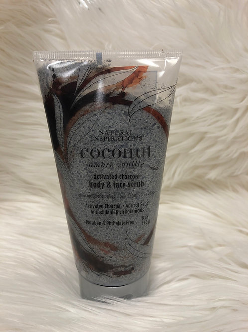 Coconut Body& Face Scrub 6oz