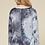 Thumbnail: Charcoal Tie Dye LS Top