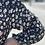 Thumbnail: Black Floral Prairie Dress
