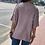 Thumbnail: Mauve Short Sleeve V-Neck Sweater