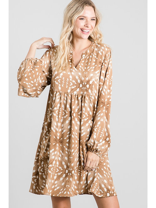 Toffee Fawn Dress