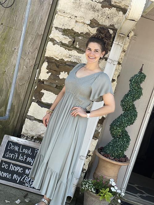 Kale Vintage Prairie Maxi Dress