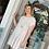 Thumbnail: Oatmeal SS Slub Knit Dress