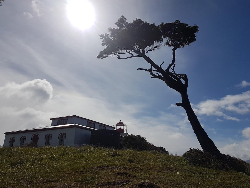 light house faro end of the world trekking