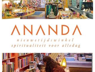 Samenwerking met Ananda Nieuwetijdswinkel