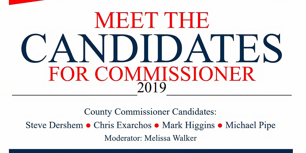 Meet the Candidates fo Commissioner 2019
