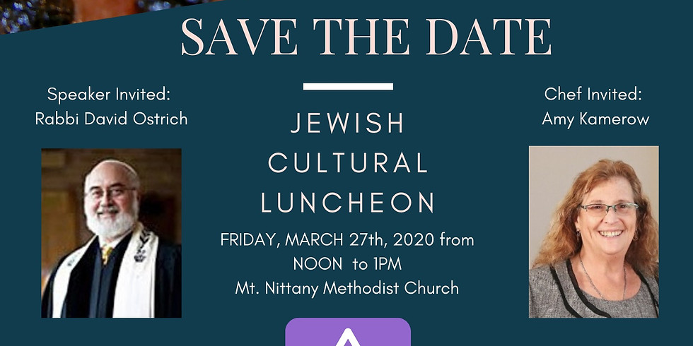 Jewish Cultural Luncheon by Global Connections