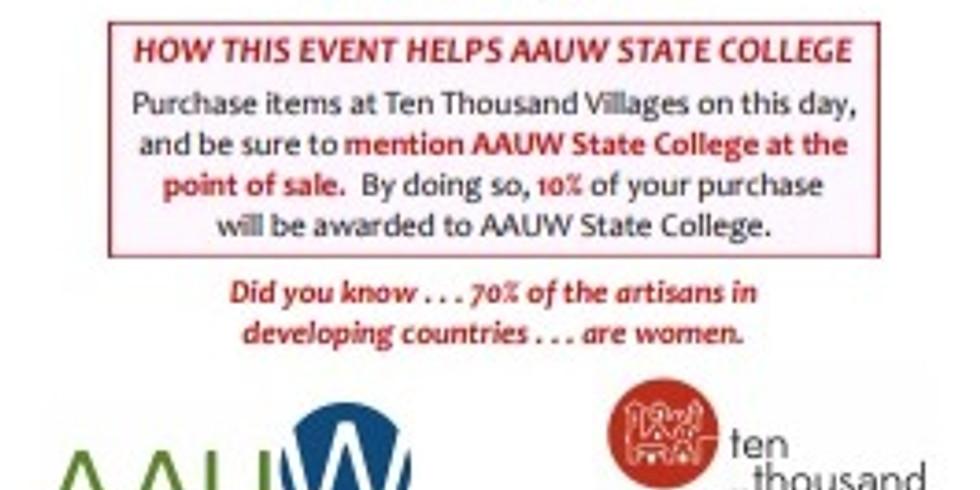 Ten Thousand Villages Community Shopping Event