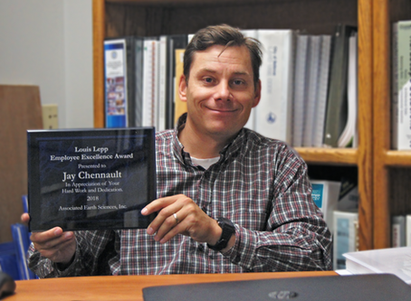 Lou Lepp Employee Excellence Award Winner: Jay Chennault