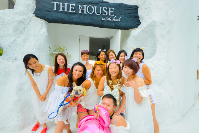 THE HOUSE on the beach 1st Anniversary Party!