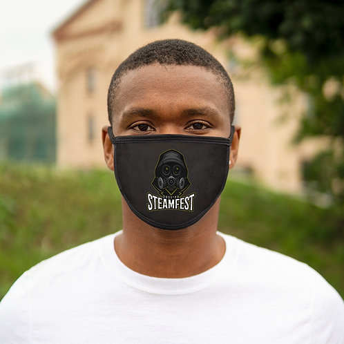 LIMITED TIME! Early Bird Support Special STEAMFest21 Mixed-Fabric Face Mask