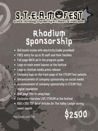 PASF21 Rhodium Sponsorship
