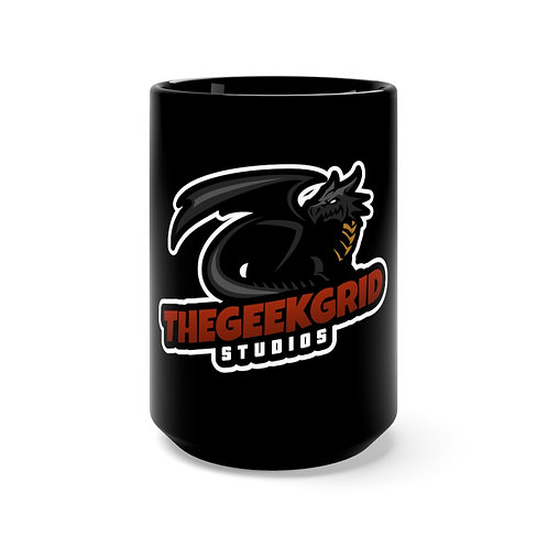 TGGS SteamDragons Black Mug 15oz