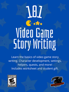 Video Game Story Writing 10+ Fliers WDG+