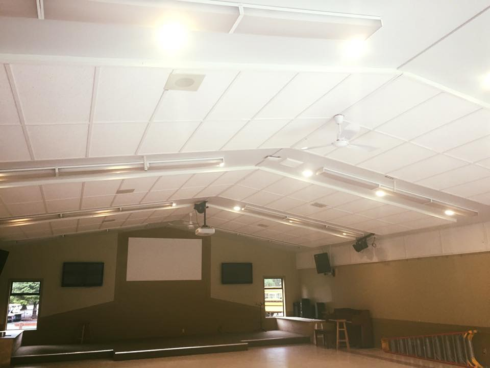New Hall LED Lights