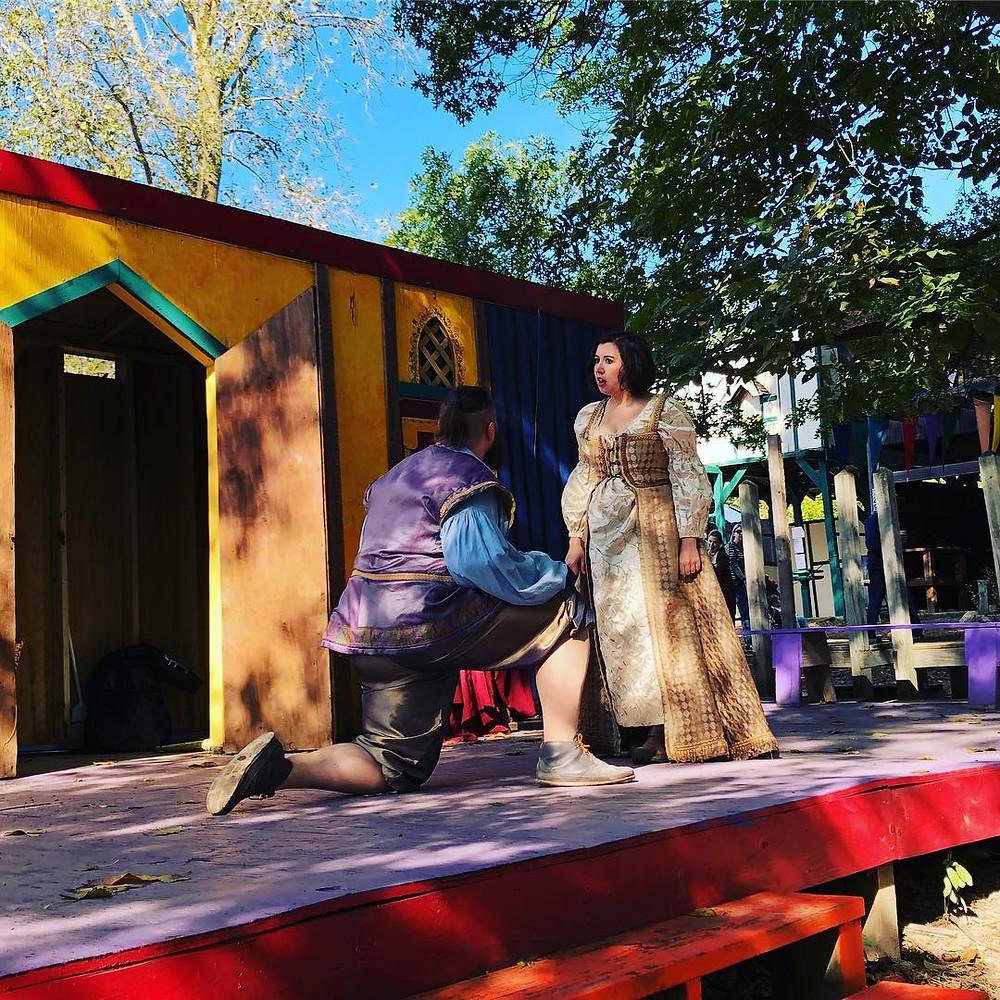 Pigeon Creek Actors at the Michigan Renaissance Festival