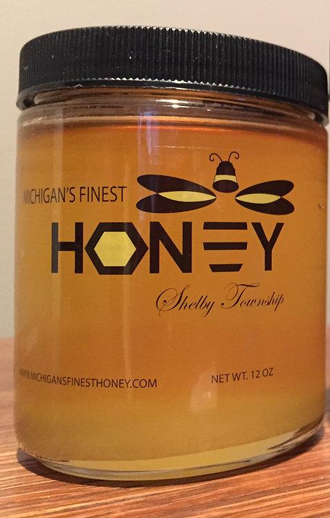 Honey - Net Wt. 12 oz (0.75 lbs)